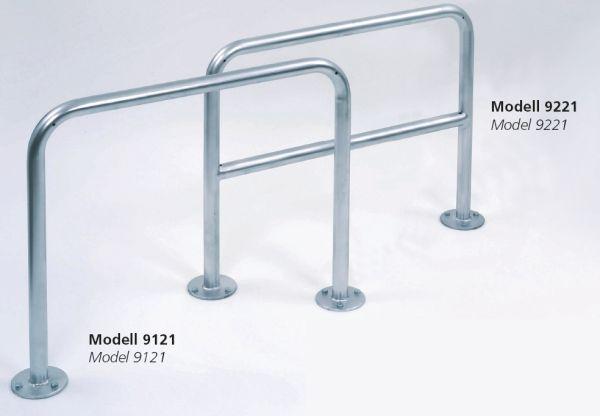 Fahrrad Anlehnbügel 9810 850mm zum EinbetonierenFahrradständerfür Außen