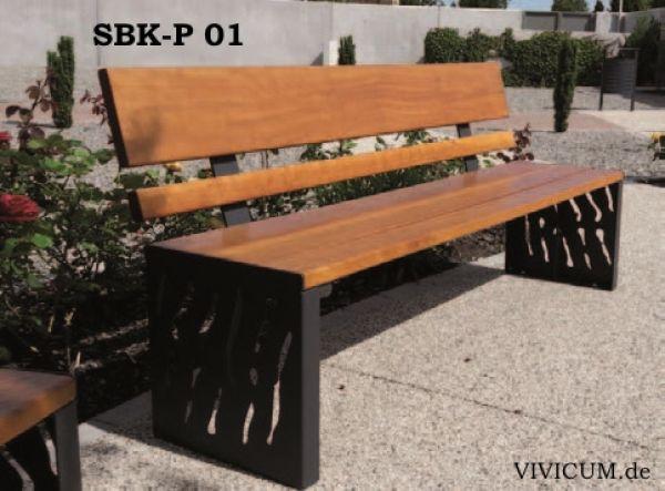 Vivicum Sitzbank Sbk P 01 Holz Und Stahl