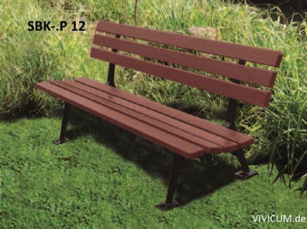 Vivicum Sitzbank Sbk P 12 Mit Sitz Und Lehne Aus Holz